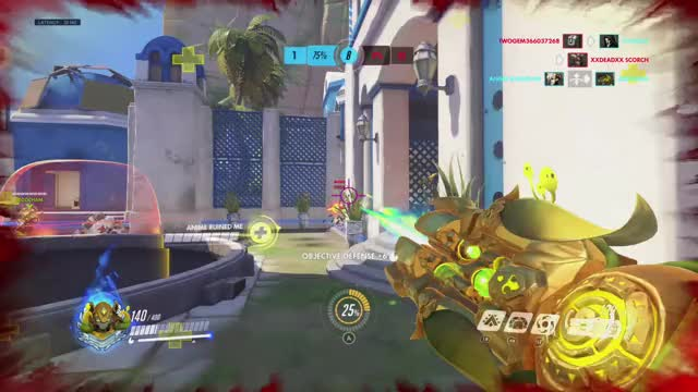 Watch and share Overwatch GIFs and Orisa GIFs by wuhfph on Gfycat