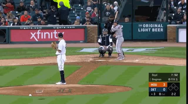 Watch and share Detroit Tigers GIFs and Houston Astros GIFs by natewattpl on Gfycat
