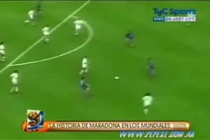 Watch and share Maradona GIFs by llepard on Gfycat
