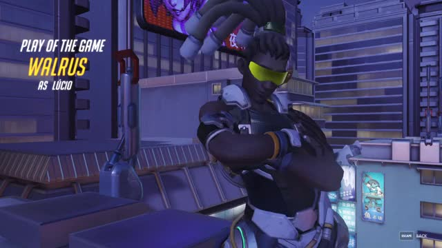 Watch and share Overwatch GIFs and Lucio GIFs by bimbaloo on Gfycat