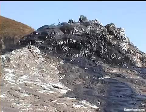 Watch and share Oldoinyo Lengai Volcano - Amazing Eruptions Of Silvery Carbonatite Lava GIFs on Gfycat