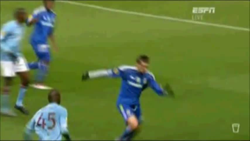 mario, mcfc, red, Mario Balotelli Red Card Manchester City vs Dynamo Kiev - Europa League - 17/03/2011 GIFs