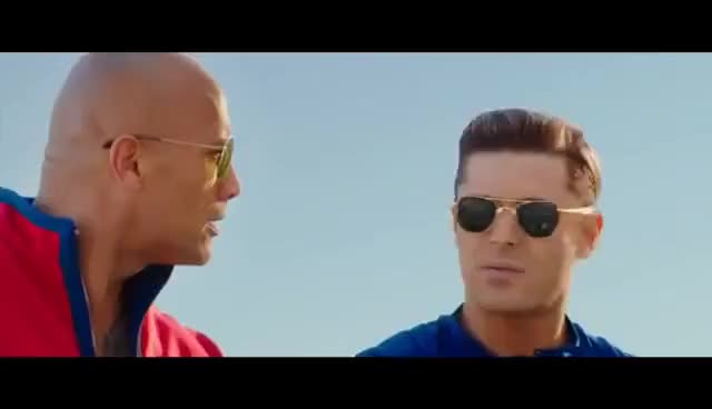Watch and share BAYWATCH Official Trailer #1 (2017) Dwayne Johnson, Alexandra Daddario Action Movie HD GIFs on Gfycat