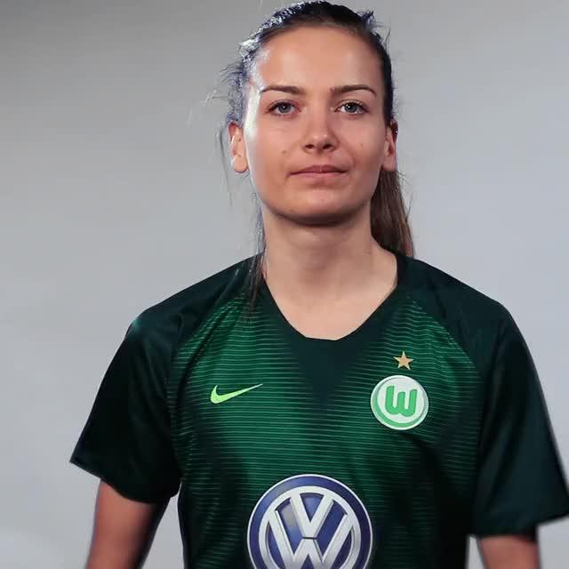 Watch and share Joelle Wedemeyer - Torrero GIFs by VfL Wolfsburg on Gfycat