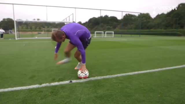 Watch Dizzy Penalty Challenge | feat. Kane, Eriksen, Alli, Winks, Carroll & McGee GIF on Gfycat. Discover more EPL, Football, Highlights, Premiership, Spurs, Training, celebs, coys, dele alli, funny, goals, hotspurs, skills, soccer, thfc, tottenham, tricks GIFs on Gfycat