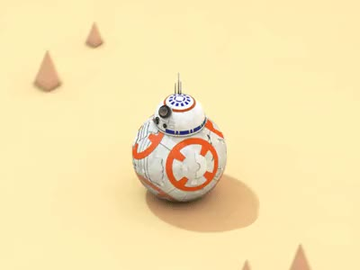 Watch and share Star Wars - BB8 GIFs on Gfycat