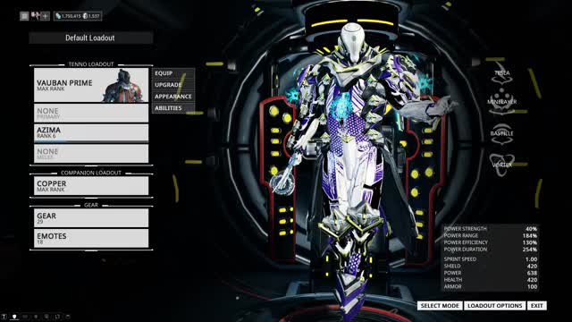 Watch and share Vauban Prime GIFs and Warframe GIFs by Thor131 on Gfycat