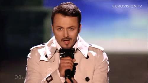 Watch and share Daniel Kajmakoski GIFs and Eurovision 2015 GIFs on Gfycat
