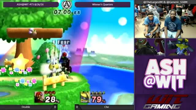Watch and share Che (Ganon) Vs Double (Lucario) - ASH@WIT #73 PM Winner's Quarters GIFs by Che-N-Grab on Gfycat
