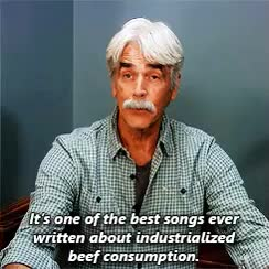 Watch and share Parks And Recreation GIFs and Sam Elliott GIFs on Gfycat