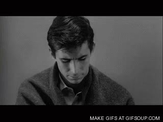 Watch and share Norman Bates GIFs on Gfycat