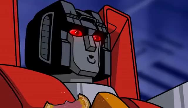 Watch Starscream and Megatron GIF on Gfycat. Discover more related GIFs on Gfycat