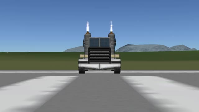 Watch KSP Jet Powered Truck GIF on Gfycat. Discover more KSP, jet powered, replica, semi truck, shockwave GIFs on Gfycat