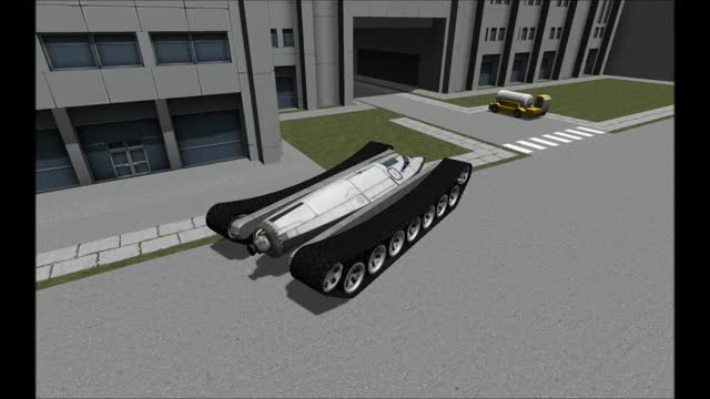 Watch and share The Trucks At KSC Are Definitely Very Well Armored (reddit) GIFs on Gfycat