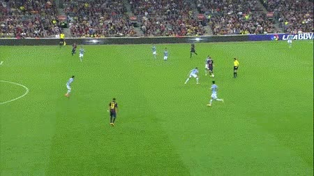Watch and share Lionel Messi Goal Against Eibar GIFs on Gfycat