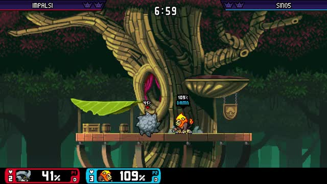 Watch Edgeguarding Kragg GIF by @sino5 on Gfycat. Discover more RivalsofAether, rivalsofaether GIFs on Gfycat