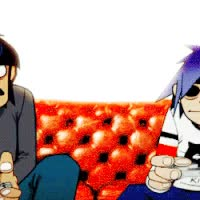 Watch and share 2D And Murdoc Game GIFs on Gfycat