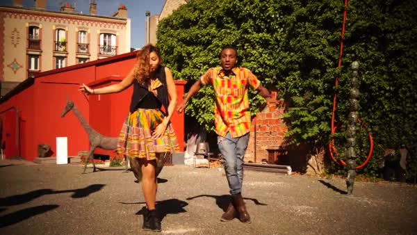 Aya & Camron One-Shot - Click Clack Dance Game on Afro House