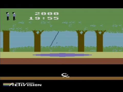 gaminggifs, Pitfall - Commodore 64 GIFs
