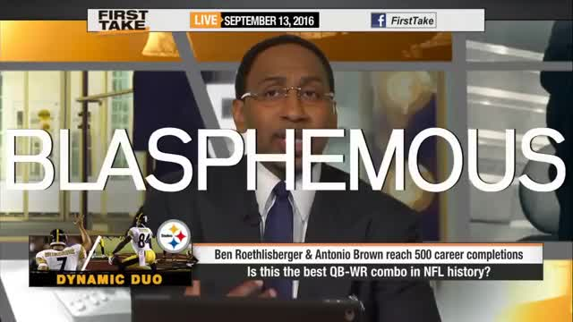 Watch Stephen A. Smith's 'Blasphemous' Reactions on First Take | ESPN GIF on Gfycat. Discover more First, Smith, blasphemous, espn, stephen, stephen a. smith, take GIFs on Gfycat