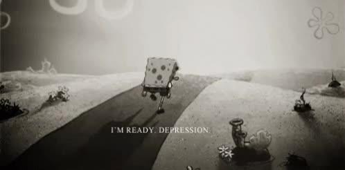 Watch and share Depression Spongebob GIFs on Gfycat