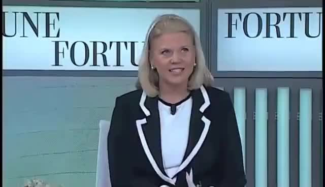 Watch and share IBM's Ginni Rometty On Taking Risks GIFs on Gfycat