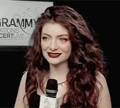 Watch we're coming for blood GIF on Gfycat. Discover more **, :), ella yelich-o'connor, gif, i'll do 245px now, interview, lorde, lordeedit, mine, she can be cute GIFs on Gfycat
