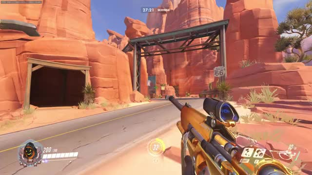 Watch Ana - Route 66 Offensive Nade GIF on Gfycat. Discover more Competitiveoverwatch GIFs on Gfycat