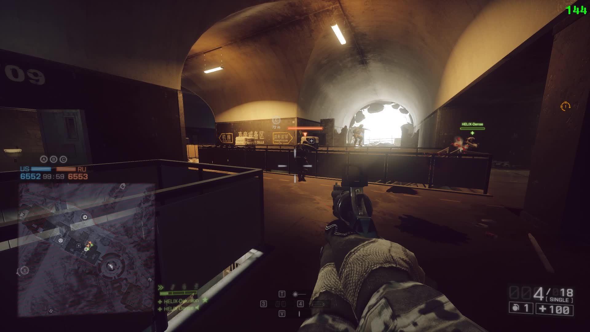 Magnum, Trickshot, battlefield_4, Jumping Glitch Trickshot GIFs