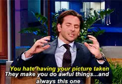 Watch and share Favourite Person GIFs and Bradley Cooper GIFs on Gfycat