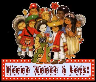 Watch and share Bonne Annee animated stickers on Gfycat
