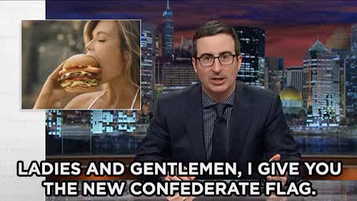 Watch and share Last Week Tonight GIFs and Confederate Flag GIFs on Gfycat