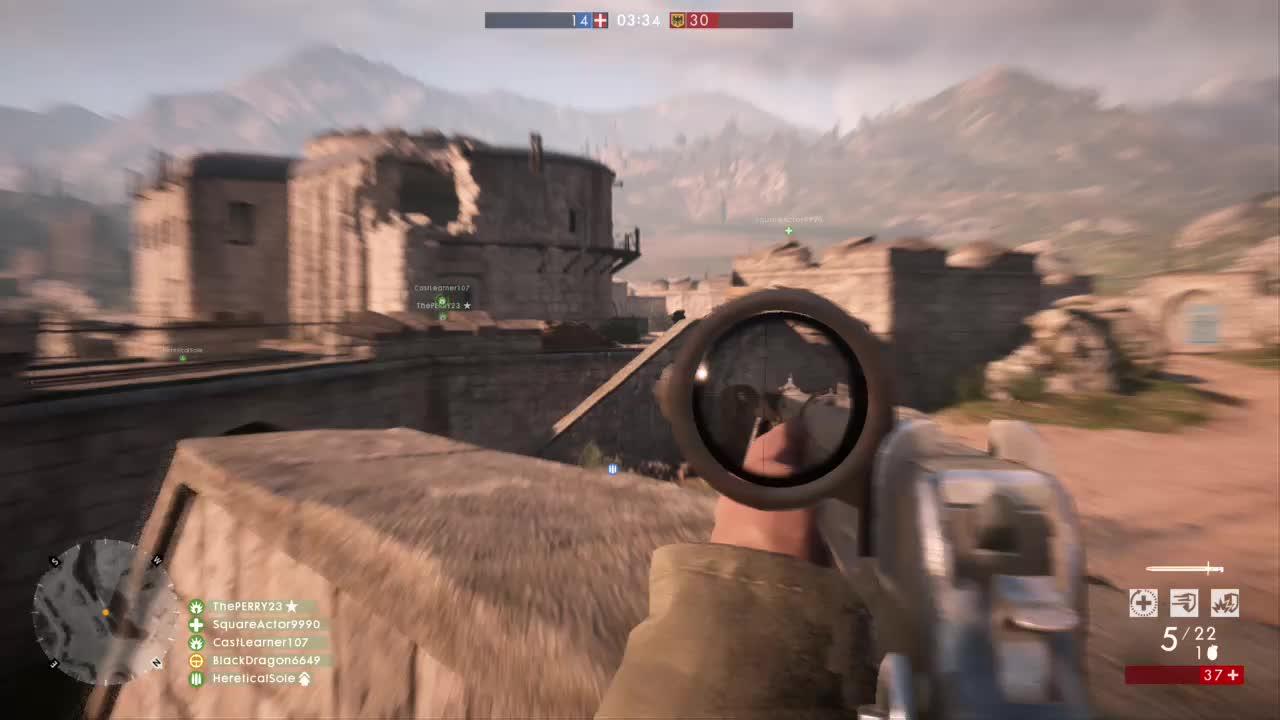 Battlefield1, BlackDragon6649, gamer dvr, xbox, xbox one, Killstreak GIFs