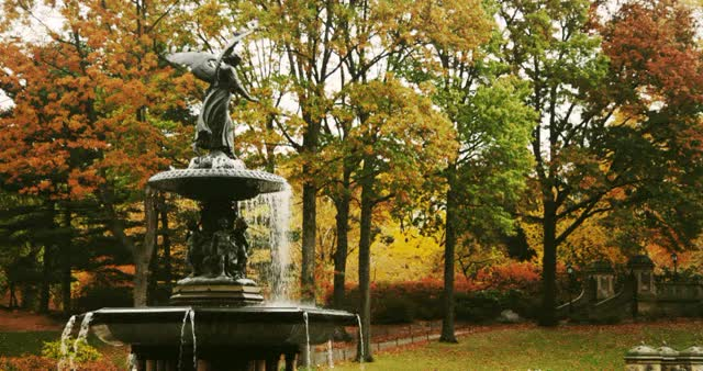 Watch and share Bethesda Fountain GIFs on Gfycat