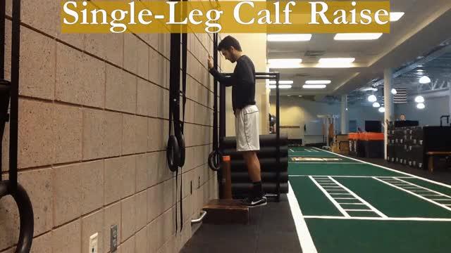 Watch and share Single-Leg Calf Raise GIFs by Deus Athletics on Gfycat