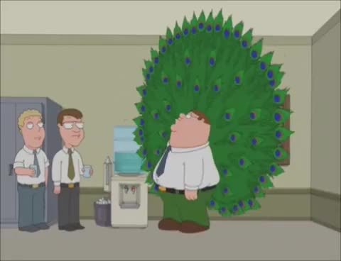 Watch and share Family Guy - Peter Peacock GIFs on Gfycat