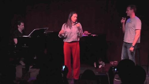 Adam Pascal, Broadway, Colleen Ballinger, Miranda Sings, RENT, Seth Rudetsky, Wizard French Fries GIFs