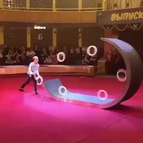circus, rings, oddly satisfying, Circus ring trick GIFs