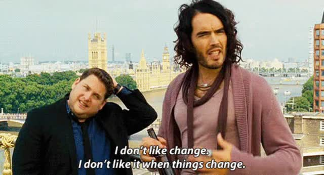 Watch and share Russell Brand GIFs on Gfycat