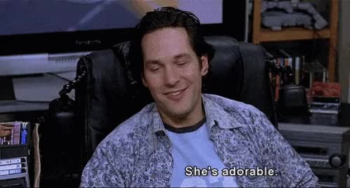 Watch and share Paul Rudd GIFs and Adorable GIFs on Gfycat