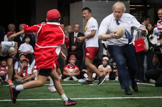 Watch and share Boris Johnson GIFs and Bojo GIFs on Gfycat
