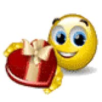 Watch and share Valentine Smiley Offers Chocolate Candy - Animated GIFs on Gfycat
