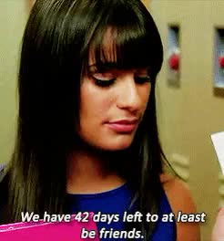 Watch 3x17 | 4x16 | 5x09 | 5x18 GIF on Gfycat. Discover more Lea Michele, Naya Rivera, Pezberry, Rachel Berry, Santana Lopez, glee, liz plays with photoshop, one of the good things abt glee tho, sigh, this is terrible sb teach me how to color GIFs on Gfycat
