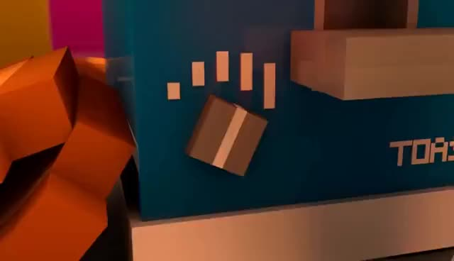 Watch ADORABLE TOAST (Minecraft Animation) GIF on Gfycat. Discover more related GIFs on Gfycat