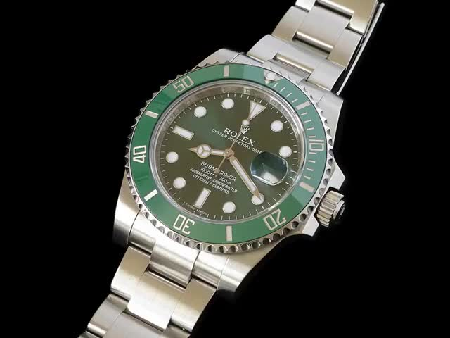 Watch and share Nouvelle Arrivée: Mon Rolex Submariner 116610 Lunette Verte... GIFs on Gfycat