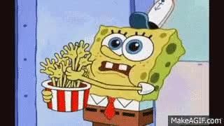 Watch and share Spongebob Eating GIFs on Gfycat