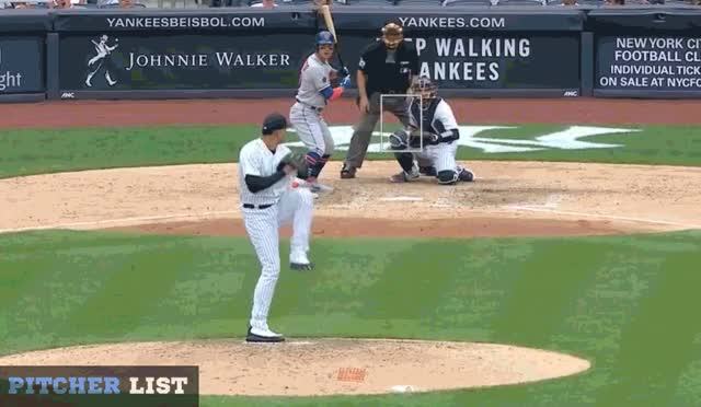 Watch and share Dellin Betances GIFs and Baseball GIFs by Pitcher Giffer on Gfycat