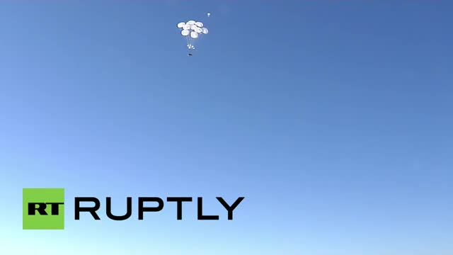 Watch and share Airdrop Of Russia's New BTR-MD Rakushka (reddit) GIFs by forte3 on Gfycat