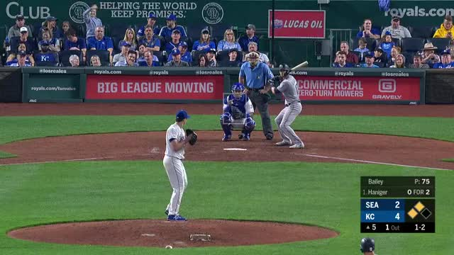 Watch Bailey FS 4-8-19 GIF on Gfycat. Discover more Seattle Mariners, baseball GIFs on Gfycat