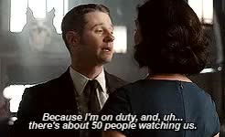 Watch - I have a powerful urge to kiss you right now.- Why don't y GIF on Gfycat. Discover more Aww!, Ben McKenzie, Gotham, James Gordon, Leslie Thompkins, Morena Baccarin GIFs on Gfycat